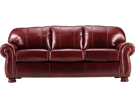 benjamin 3 seat sofa leather thomasville furniture