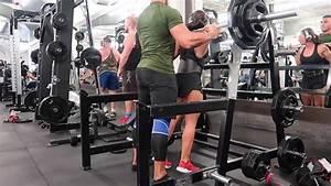 Golds Gym Hollywood: Quad day - YouTube