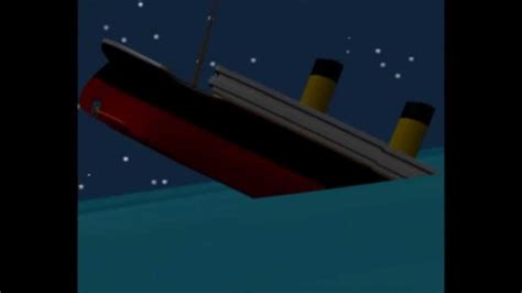 Titanic Sinking Animation 3d by 3d Titanic Sinking Animation