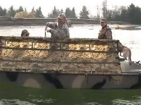 Duck Hunting Without Boat by Duck Boats Duck Hunting Bankes Boats 19 Crusader Youtube