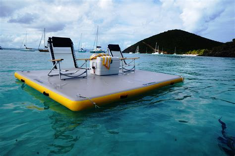 Blow Up Boat Dock by Solstice 174 10 X 10 X 6 Quot Inflatable Floating Dock