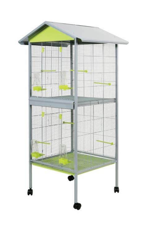 voliere oiseaux interieure exterieur duplex animaloo