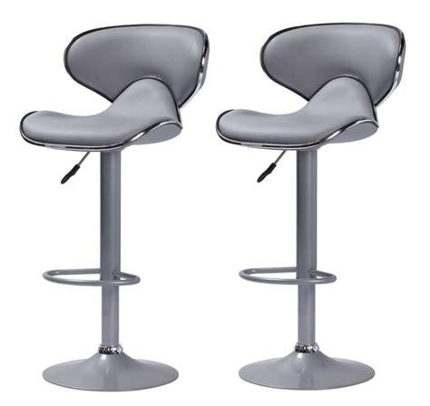 tabouret de bar gris cobra chaise de bar tabouret de bar topkoo