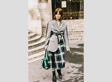 Best Street Style Looks of PFW Fall 2018 The Fashion Medley
