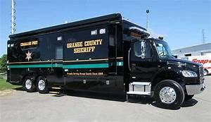 Orange County Sheriff's Department Mobile Command Post