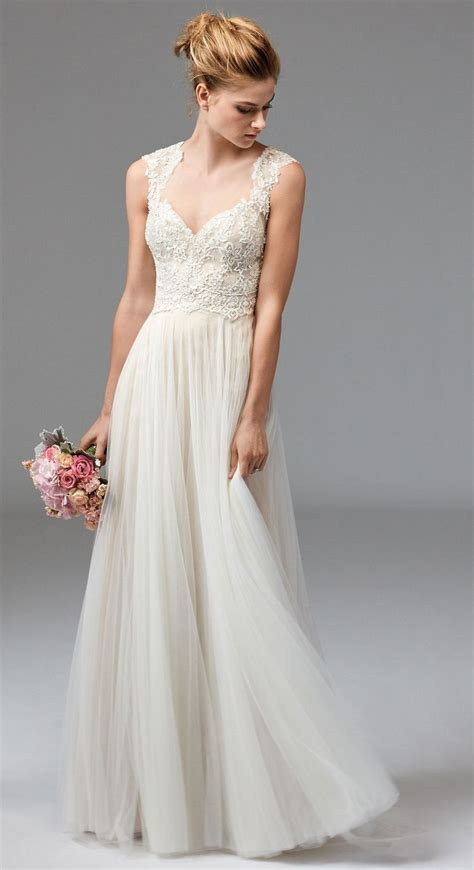 Beach Wedding Dresses A Complete Guide. Chiffon Wedding Dress With Lace Sleeves. Wedding Dresses Fit And Flare Style. Modest Wedding Dresses Lace. Wedding Dresses With Straps And Low Back. Cheap Wedding Dresses With Slits Up The Leg. Chiffon Wedding Maxi Dress. Wedding Dresses 2016 Durban. Kleinfeld Colored Wedding Dresses
