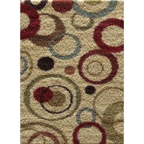 home depot area rugs 5x8 tayse rugs casual shag ivory 5 ft 3 in x 7 ft 3 in
