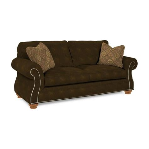 broyhill laramie brown goodnight attic heirlooms sleeper sofa ebay