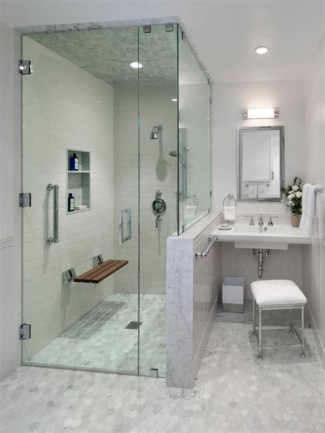 23 bathroom designs with handicap showers messagenote
