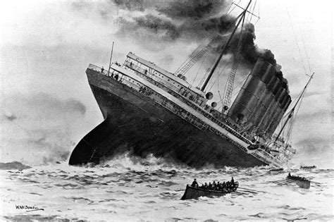 the sinking of the rms lusitania paranoia magazine