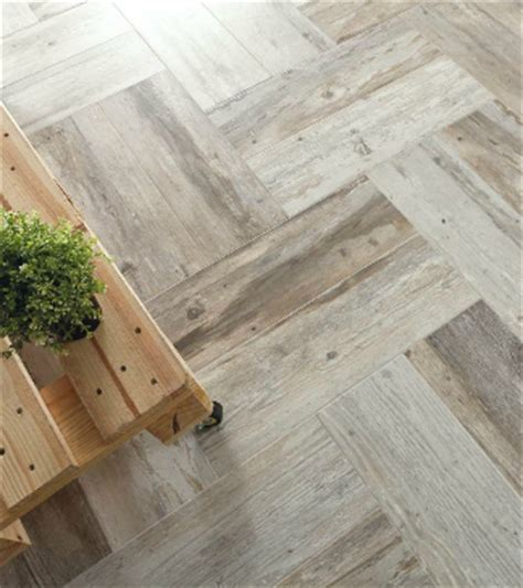 6x24 Wood Tile Layout by Plank Tile That Looks Like Barn Wood Castle Series From