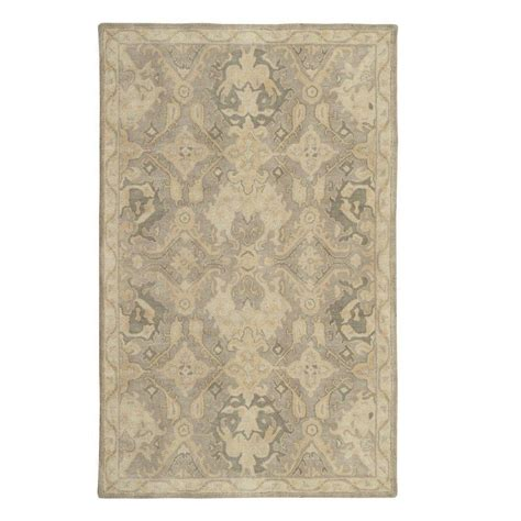 the home depot area rugs home decorators collection imperial ivory 3 ft x 5 ft