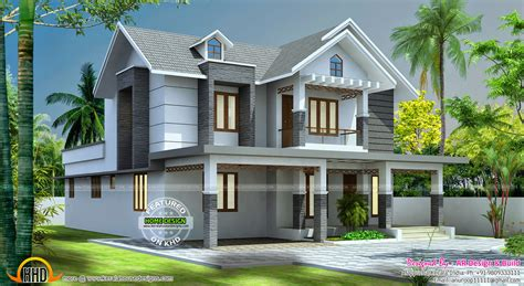 Beautiful 2545 Sq-ft Home Design