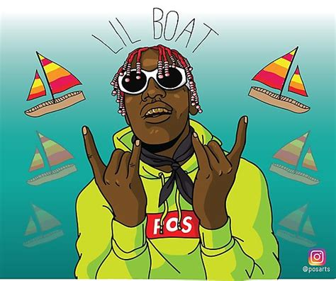 Lil Boat Cartoon by Fat Ugly Kids