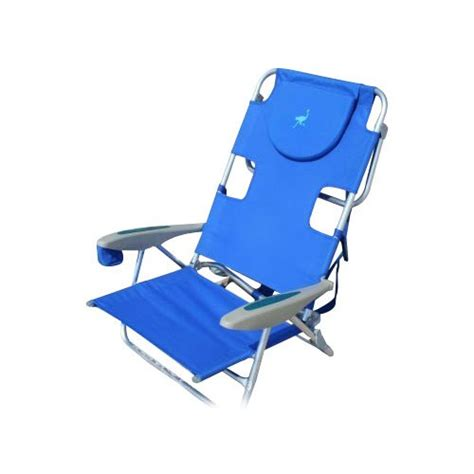 ostrich on your back chair blue chair beachkit