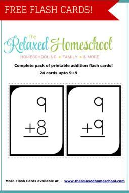 Free Flash Cards! 24 Math Flashcards! Download Yours Here!  Ultimate Homeschool Board