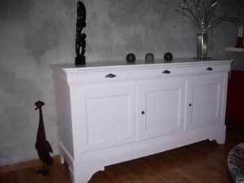 bahut merisier blanc avant apr 232 s table et bahut paint furniture buffet and salons