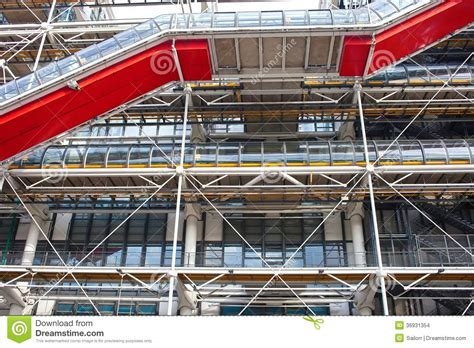 pompidou centre in stock images image 36931354