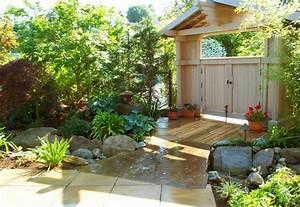 Gartengestaltung Feng Shui : den garten versch nern und nach feng shui gestalten ~ Markanthonyermac.com Haus und Dekorationen
