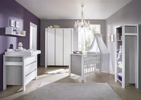 chambre b 233 b 233 milan blanche et grise avec armoire 3 portes