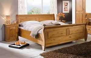 Schlafzimmer Set Massivholz : schlafzimmer set 3teilig kiefer massiv honigfarben lackiert ~ Markanthonyermac.com Haus und Dekorationen