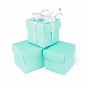Mini Small Square Cube Robin's Egg Blue Gift Boxes with ...