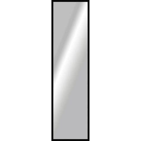 miroir basic noir l 157 x h 37 cm leroy merlin