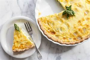 Asparagus Quiche with Fontina Cheese Recipe ...