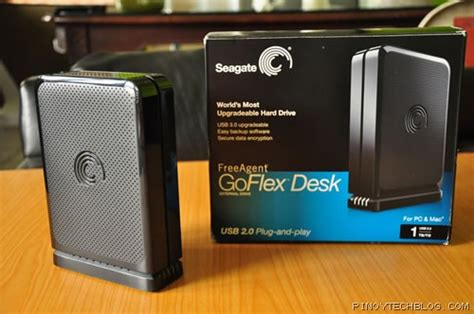 seagate freeagent goflex desk external drive review