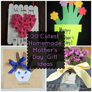 20 of the Cutest Homemade Mother's Day Gift Ideas