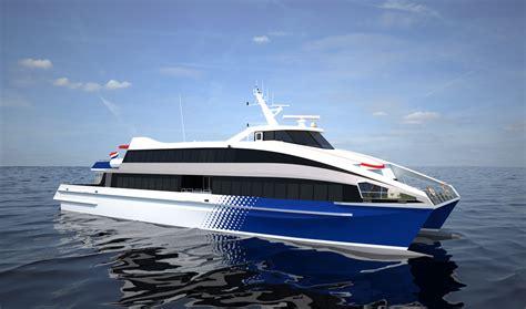 Catamaran Ferry Safety by Damen Fast Ferry 4212