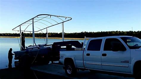Sunstream Boat Lift Youtube by Sunstream Float Lift 1 Of 2 Youtube