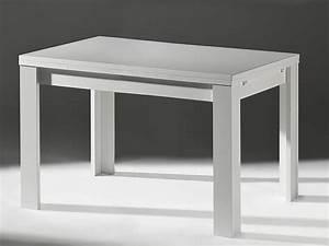 Küchentisch 60 X 60 : ausziehtisch esszimmertisch wei matt 160x80 cm m bel m bel tische b nke st hle m bel ~ Markanthonyermac.com Haus und Dekorationen