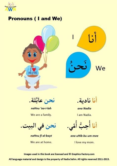 Arabic Posters  Arabic With Nadia  Nada2  Pinterest  Learning Arabic, Learning And Arabic