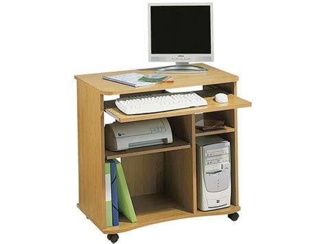 meuble micro informatique ozoo coloris d 233 cor aulne tous les produits mobilier de bureau prixing