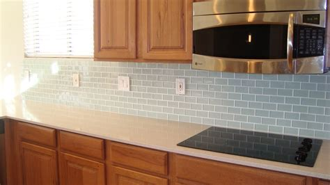 Christine's Favorite Things Glass Tile Backsplash