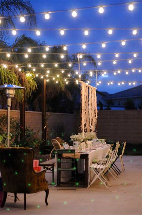 Patio And Deck Lighting Ideas by 26 Breathtaking Yard And Patio String Lighting Ideas Will