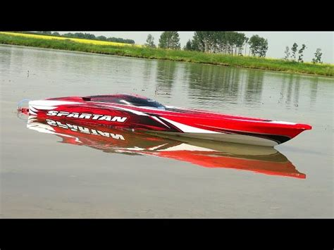 Hpr 233 Rc Boat For Sale by Rc Adventures Traxxas Spartan First Run 4s Lipo