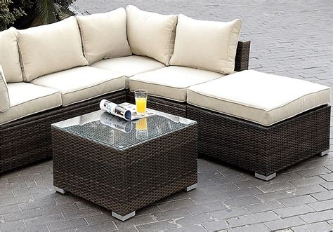 appealing outdoor patio furniture sectional design small