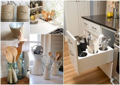 Kitchen Utensil Holder Ideas Gallery