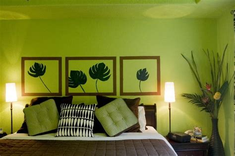 Fresh And Bright Lime Green Bedroom Ideas