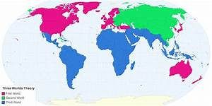 Classification of Countries First Second Third World