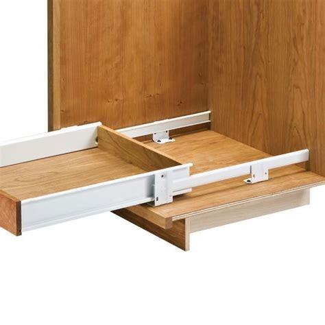 dresser drawer slides bottom mount floor mounted drawer slides with metal sides rockler
