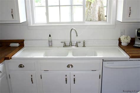 sinks interesting farmhouse sink with drainboard and backsplash vintage sink with backsplash