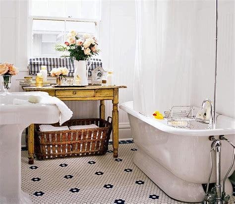 Vintage Style Bathroom Decorating Ideas & Tips. Tile Patterns. Shower Insert. Rustic Duvet Covers. Tub Shower Enclosures. Grey Backsplash. Concrete Countertops. Adjustable Coffee Table. One Wall Kitchen