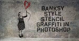 Banksy Style Stencil Graffiti Effect In Photoshop