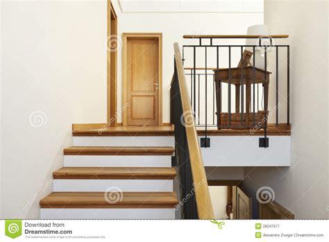 escalier int 233 rieur et en bois photographie stock libre de droits image 28247977