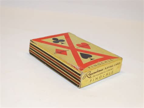 cards pinochle deck complete welles die and engineering