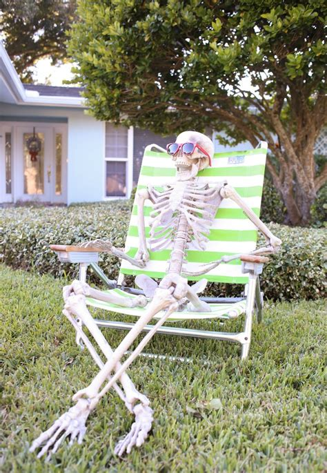 skeletons outdoor decorations decoration