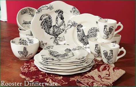 Home Interior Rooster Dishes : 17 Best Images About All Things Roosters/chickens On